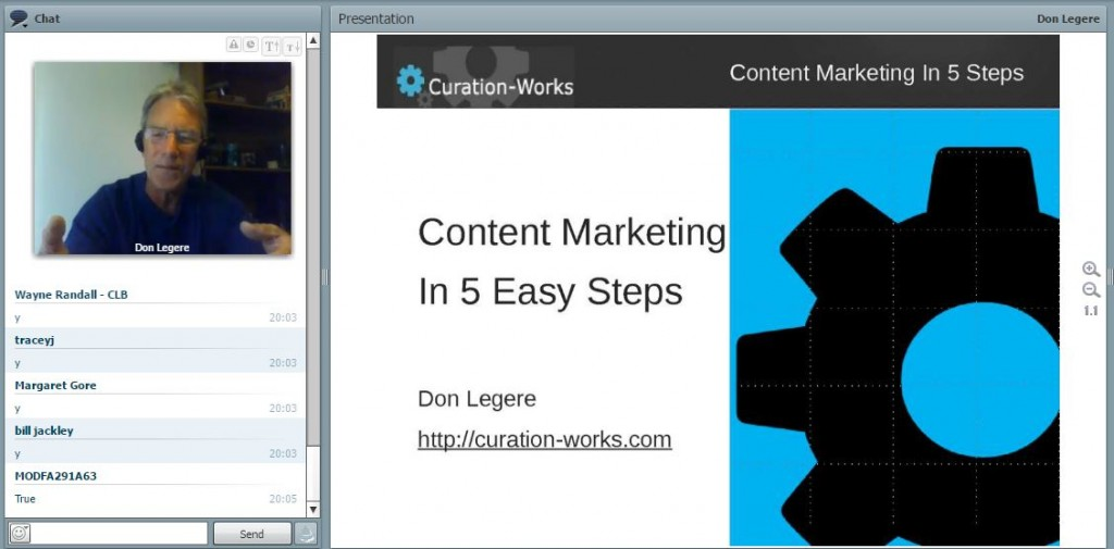 Don legere -- content marketing in 5 steps